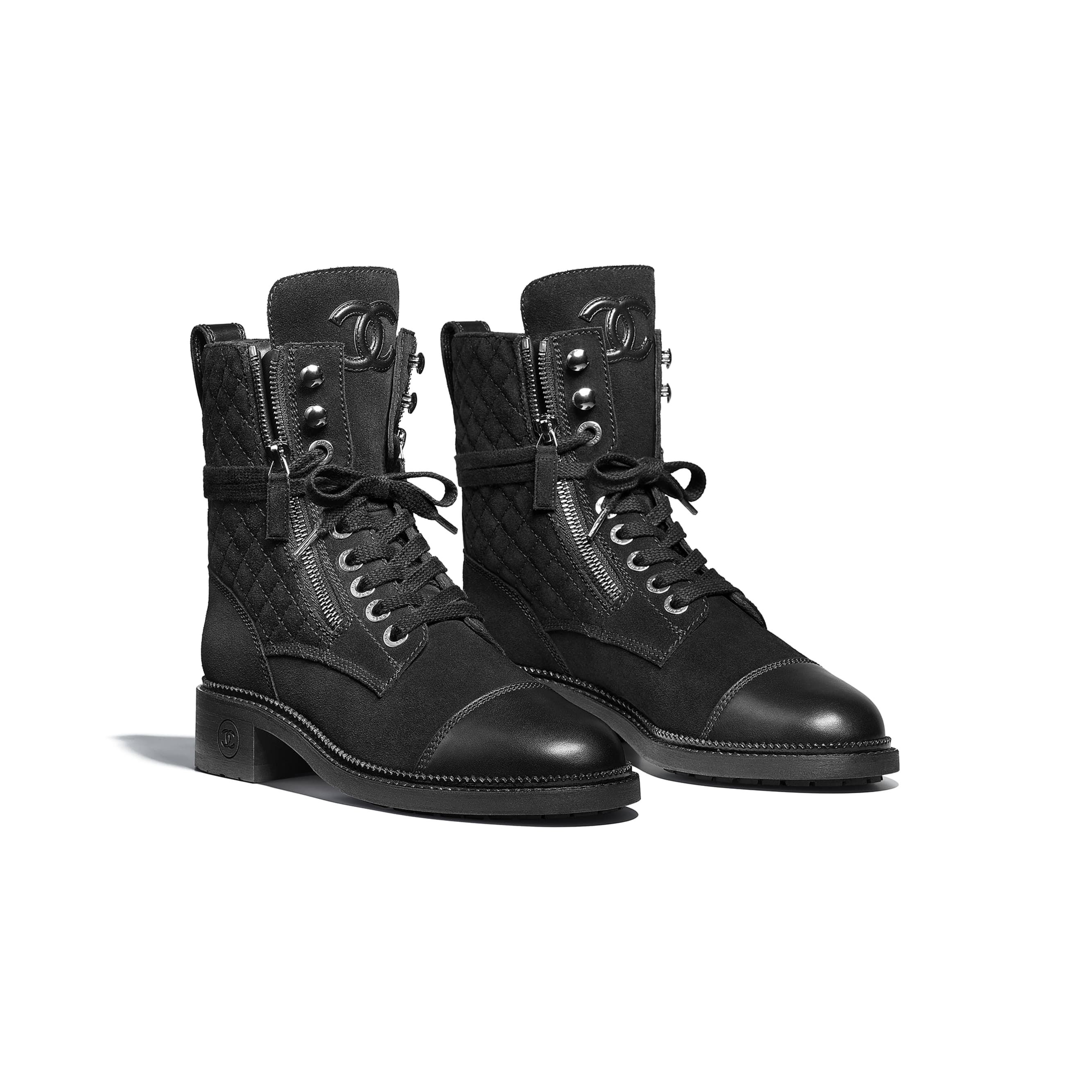 42+ Chanel lace up boots ideas ideas in 2021
