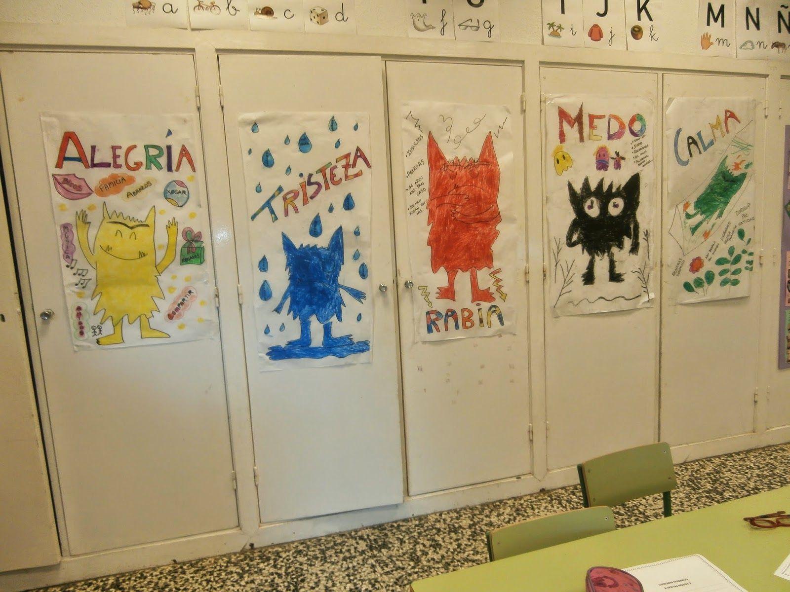 32 best el monstruo de los colores images on Pinterest | Kids ...
