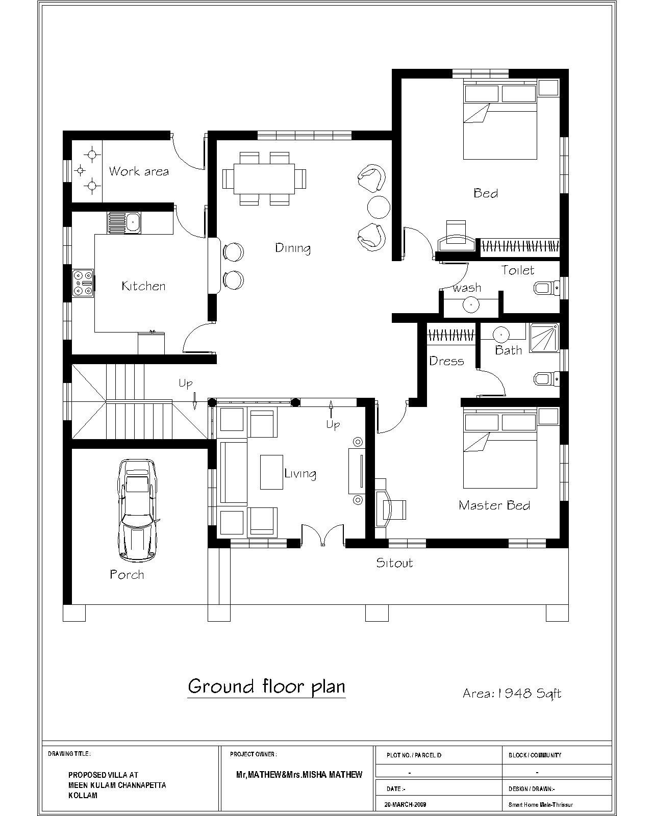 Small House Floor Plans 1000 To 1200 Sq Ft Chris Daughtry Wife And Kids Duplex House Plans Indian Style Indian House Plans Bedroom House Plans House Plans