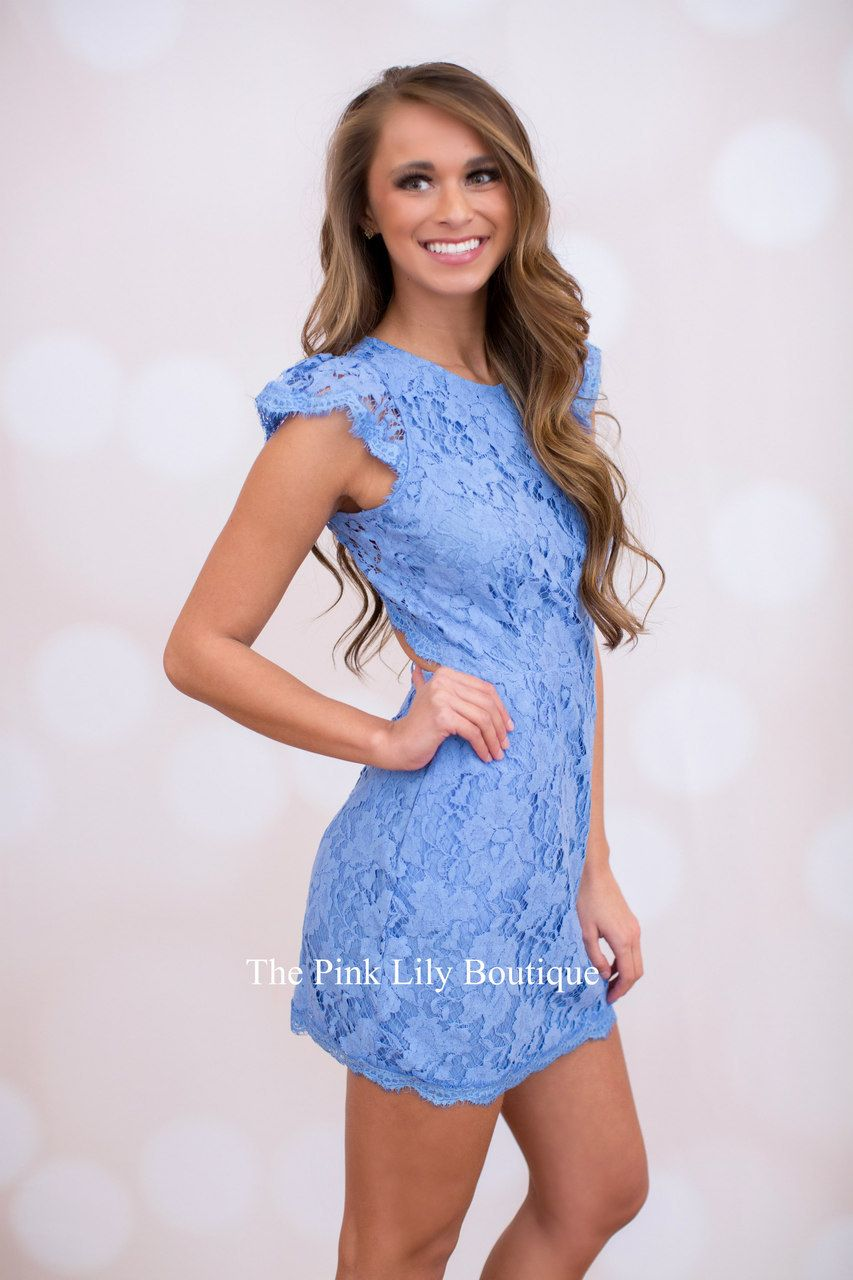 Forever Divine Periwinkle Lace Dress | Pink lily boutique, Lily ...