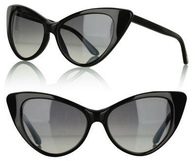 8c48f9412ba Tom Ford Nikita 56J sunnies in black Cat Eye Glasses