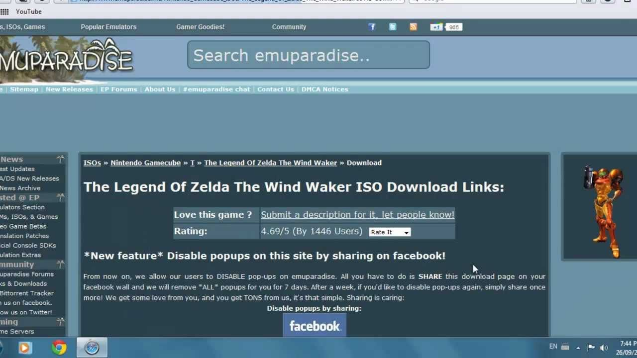 How To: Download Gamecube Iso's