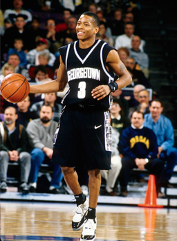 Bald Headed Iverson, '95. | College basketball, Allen
