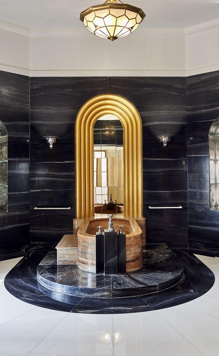 Le palais Umaid Bhawan en Inde | ART DECO | Salle de bain art deco ...