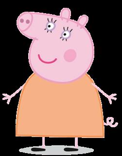 Personagens dos desenhos animados: Peppa Pig (PNG)