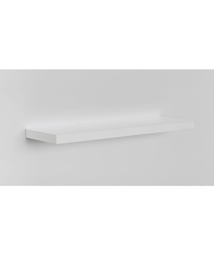 Buy High Gloss 80cm Floating Shelf - White Gloss at Argos.co.uk ...