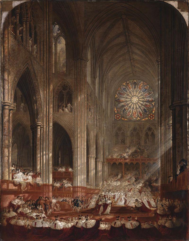 Coronation of Queen Victoria - John Martin - ジョン・マーティン - Wikipedia