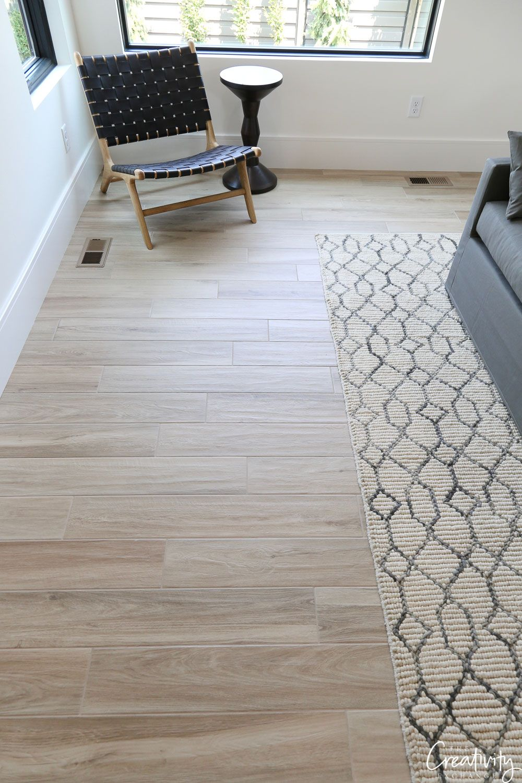 Contemporary Modern Farmhouse Video Home Tour Modern Flooring