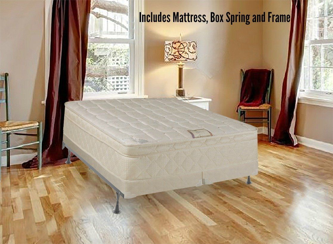 Spring Solution 10 Pillowtop Fully Assembled Mattress and