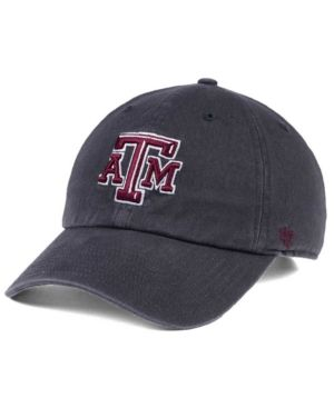 low priced 35620 2fa57  47 Brand Texas A M Aggies Clean Up Cap - Gray Adjustable