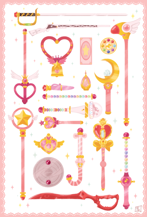 LU4E ~ Last Song ~, manlyrainbow: Choose your weapon!