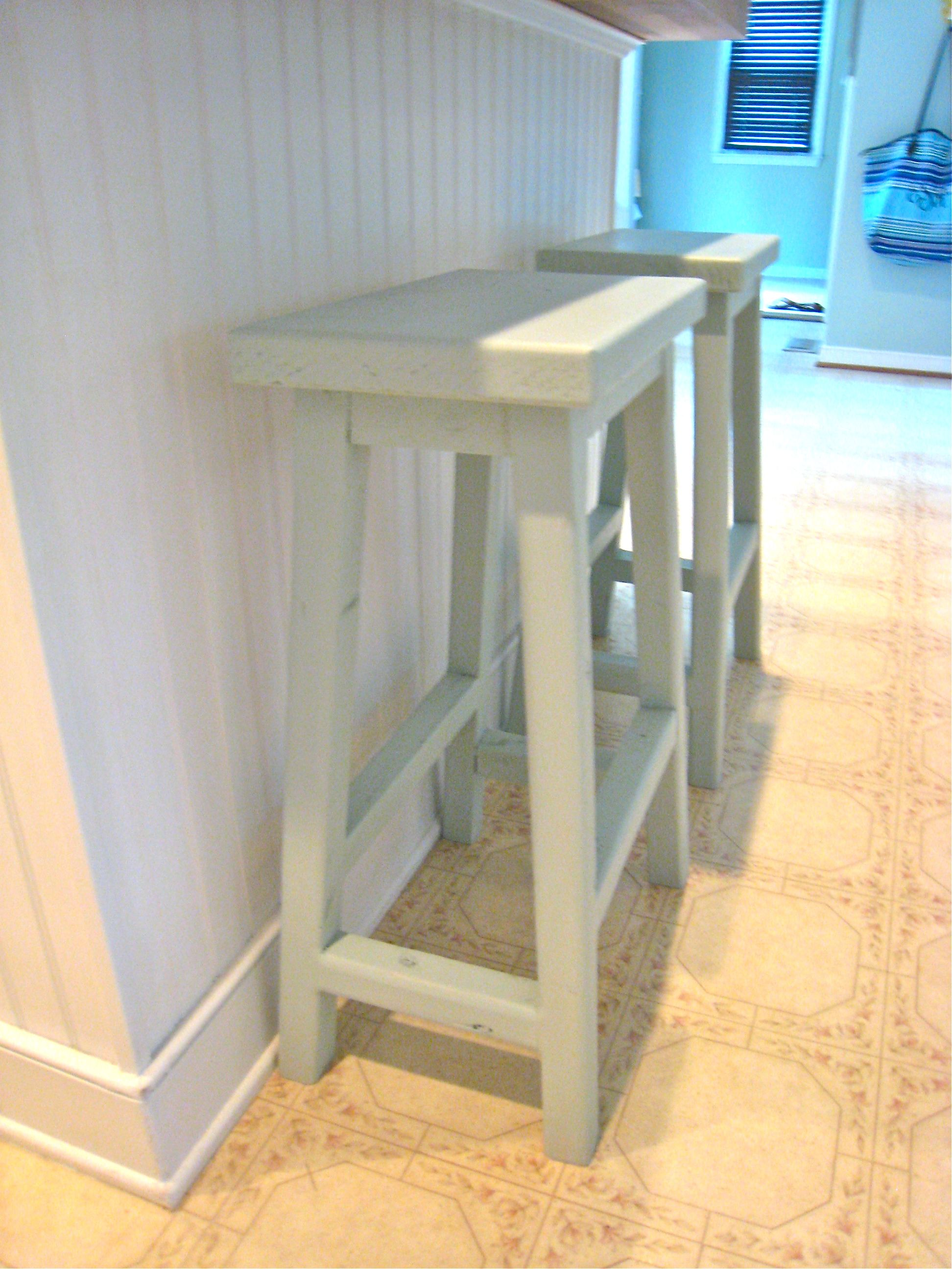 Simplest Stool  Saddle Back Style | Do It Yourself Home Projects from Ana White : oak saddle stool - islam-shia.org