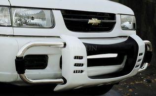 Goldsun Chevrolet Tavera Front Bumper Honda Logo Bumpers