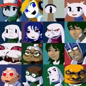 This is the characters of cave story top left to right quote curly this is the characters of cave story top left to right quote curly brace voltagebd Image collections