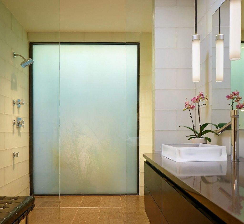 Contemporary bathroom with glass shower corner and rain fall shower head also modern vanity sink design ideas contemporary eco friendly home green lantern