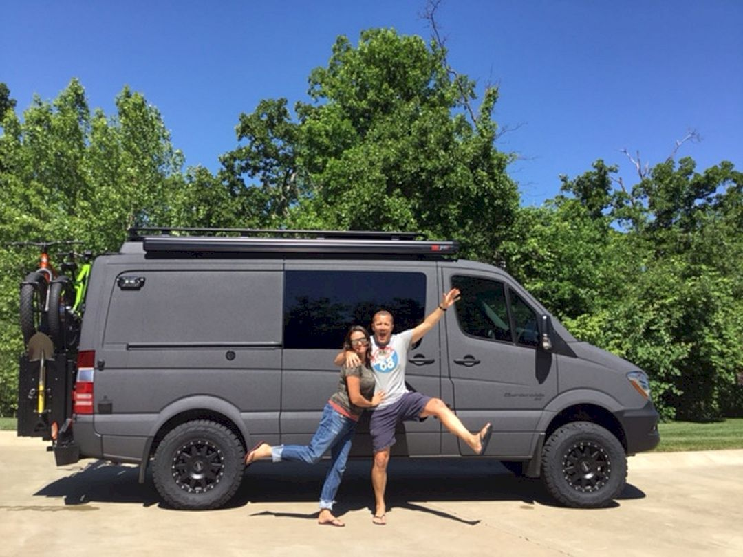 The Best 10x10 Mercedes Sprinter Hacks, Remodel and Conversion (10