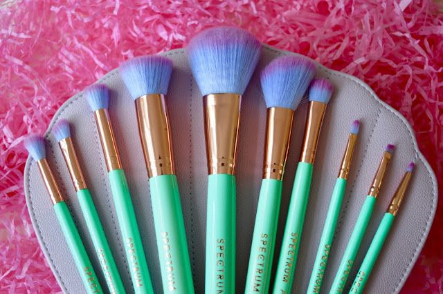Spectrum Glam Clam brushes | Beauty review. Glam. Beauty