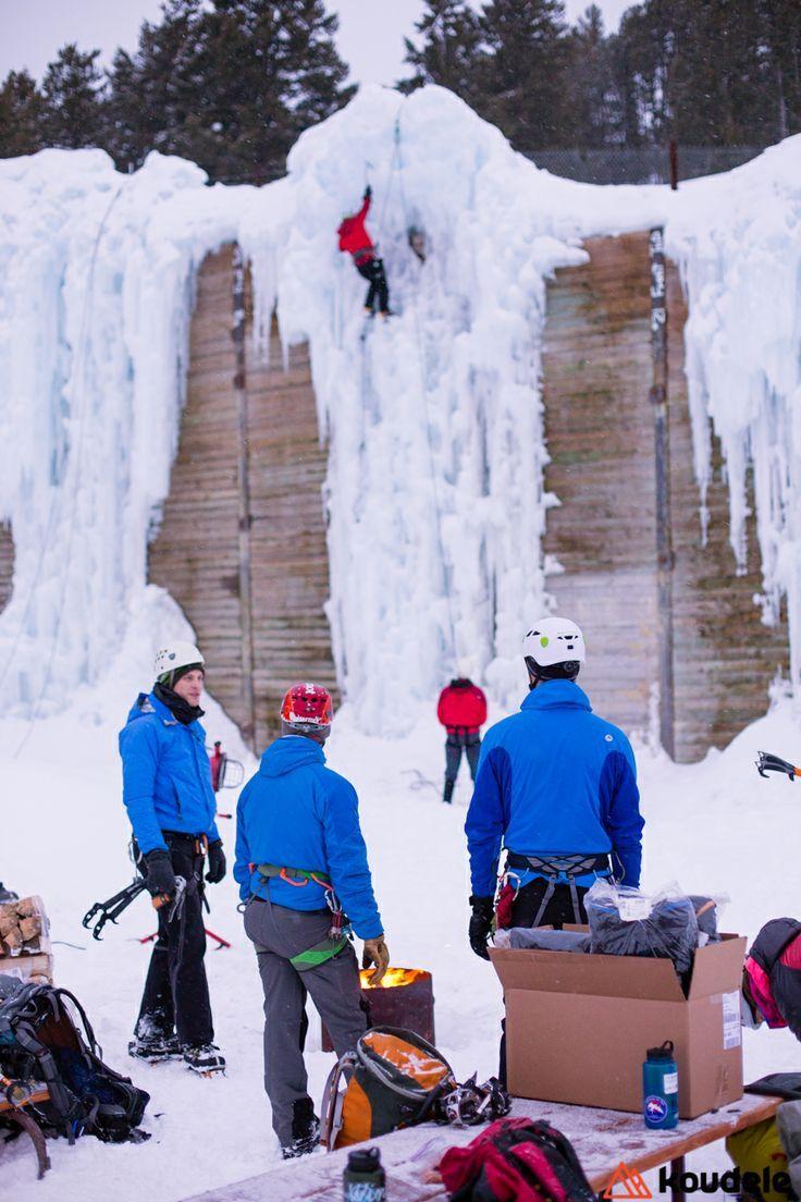 Winter Sports Ice climbing in Jackson Hole, Wyoming