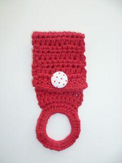 Häkelanleitung Geschirrtuchhalter Häkeln Crochet Pattern