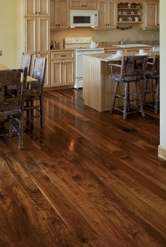 Walnut Wide Plank Floor Dark Wood Flooring And Hardwood