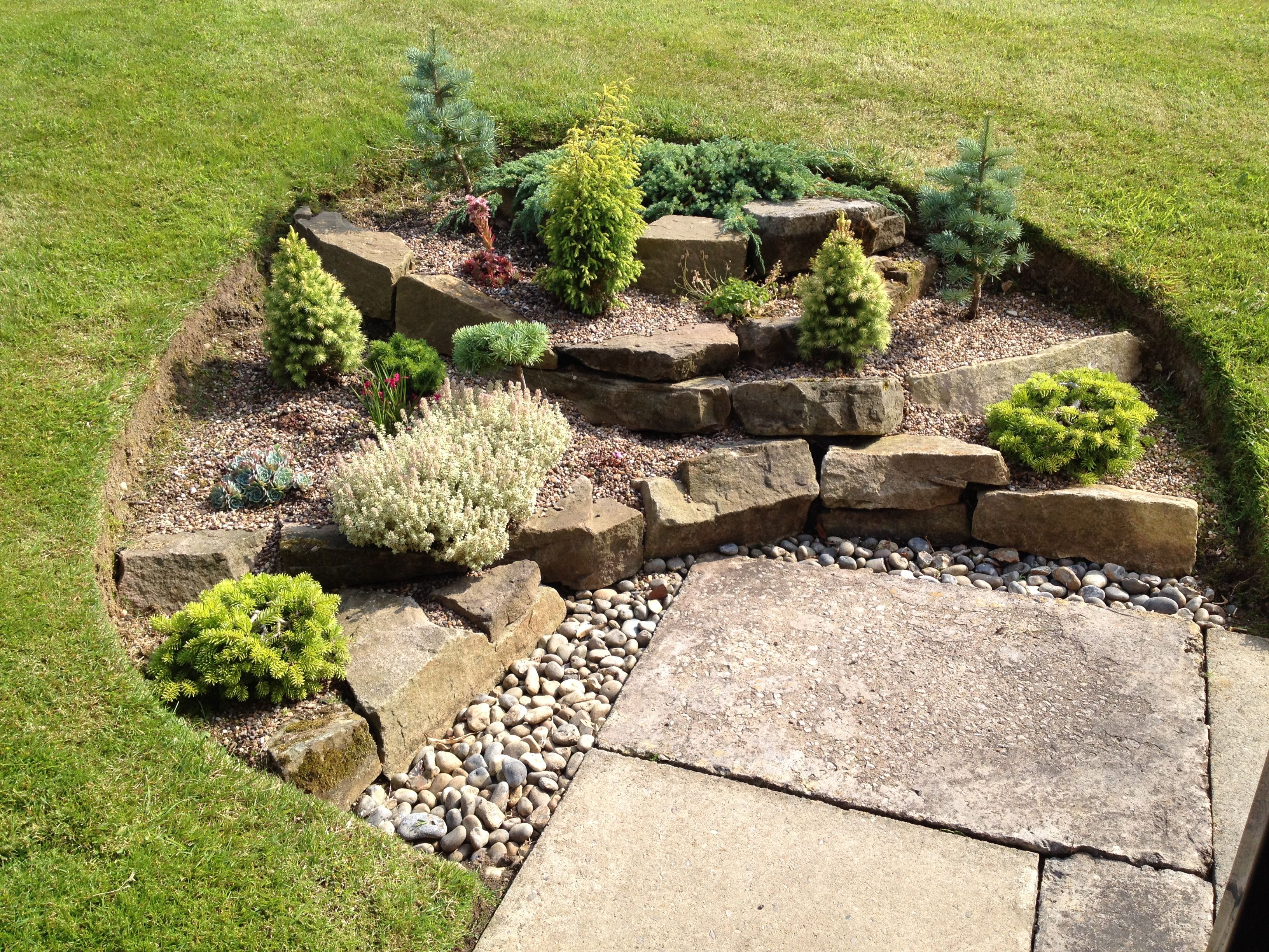 rockery designs for small gardens for my