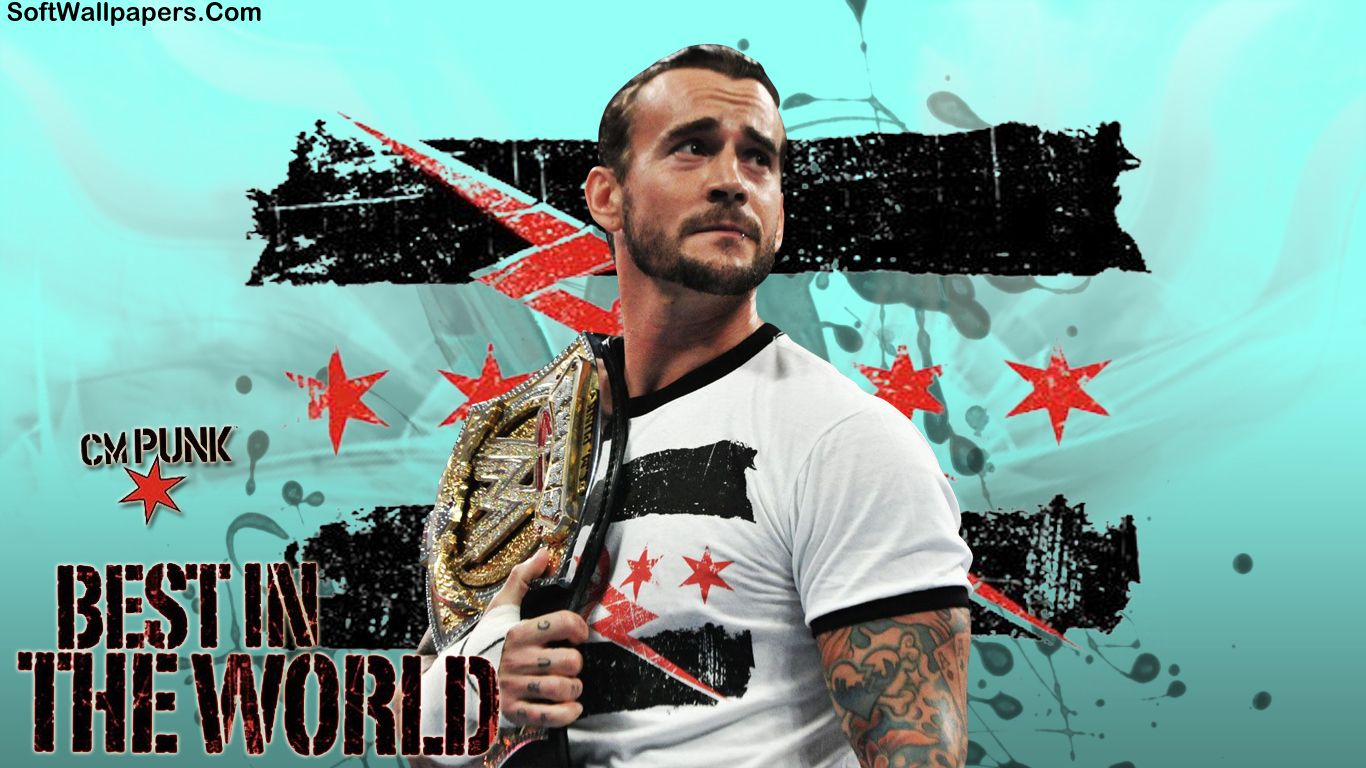 Cm Punk Wwe Hd Wallpapers Soft Wallpapers Cm Punk Punk Wwe