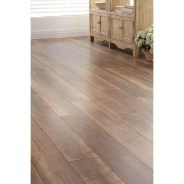 Home Decorators Collection English Barrel Oak 12 Mm Thick X 6 1 3 In Wide X 50 5 8 In Length