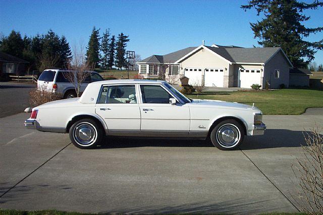 1976 Cadillac Seville For Sale Lynden, Washington   White Clic ...