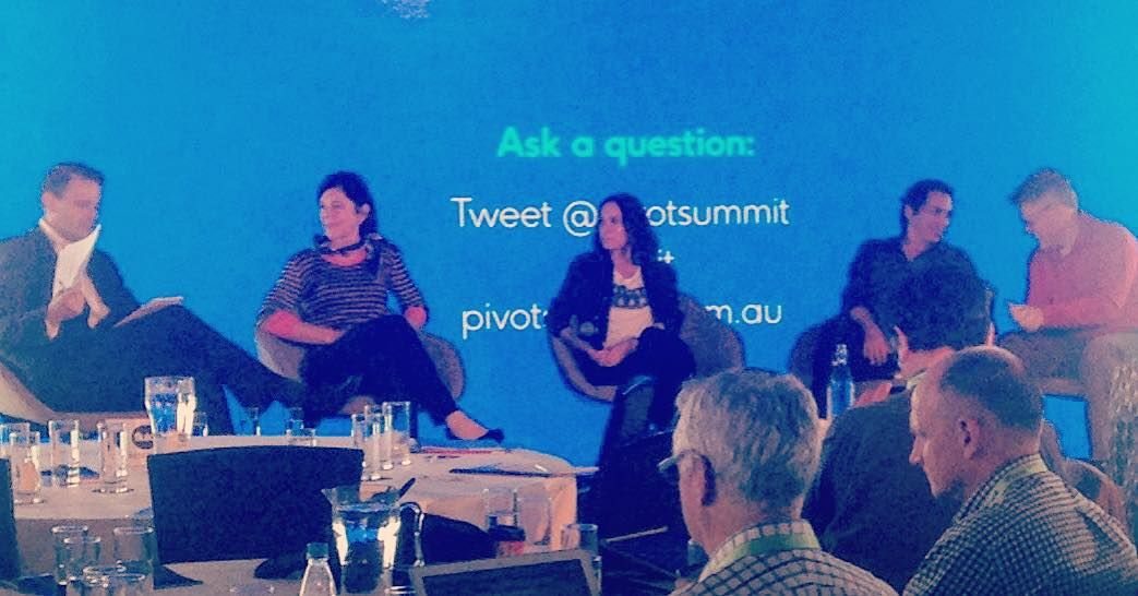 Awesome day at the #pivotsummit2015 digital tech conference massive turnout international speakers cool tips and ideas mark it down for next year... #geelongwaterfront by gutch01 http://ift.tt/1JtS0vo