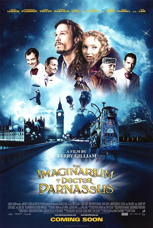 The Imaginarium Of Doctor Parnassus Heath Ledgers Last Movie Rip Heath Gone Too Soon Such A Talented Human Being