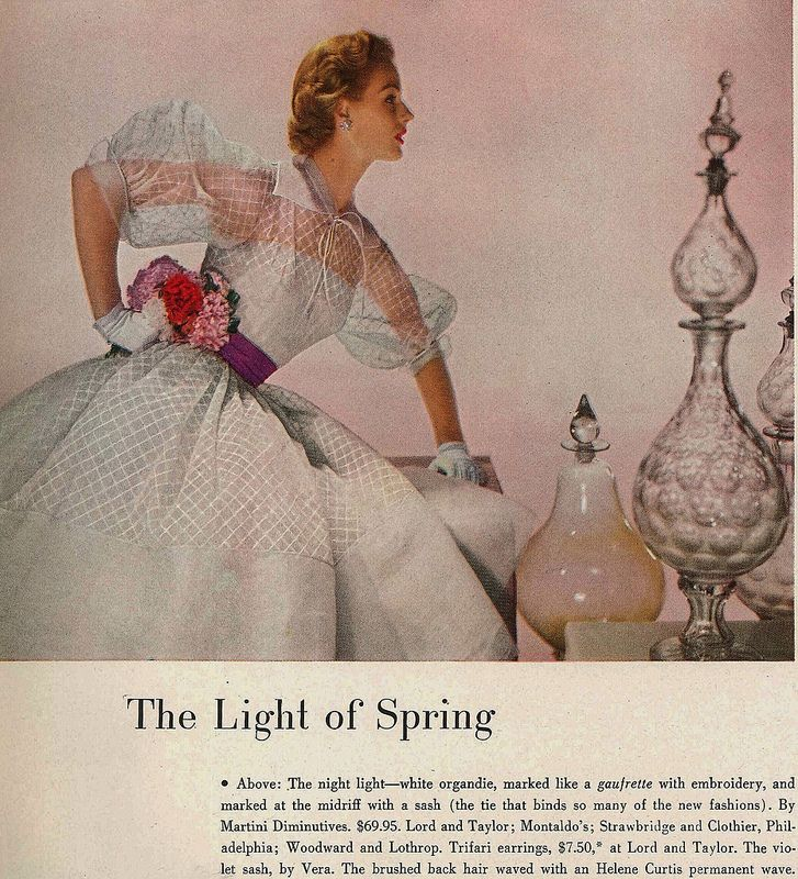 Harpers Bazaar April 1952