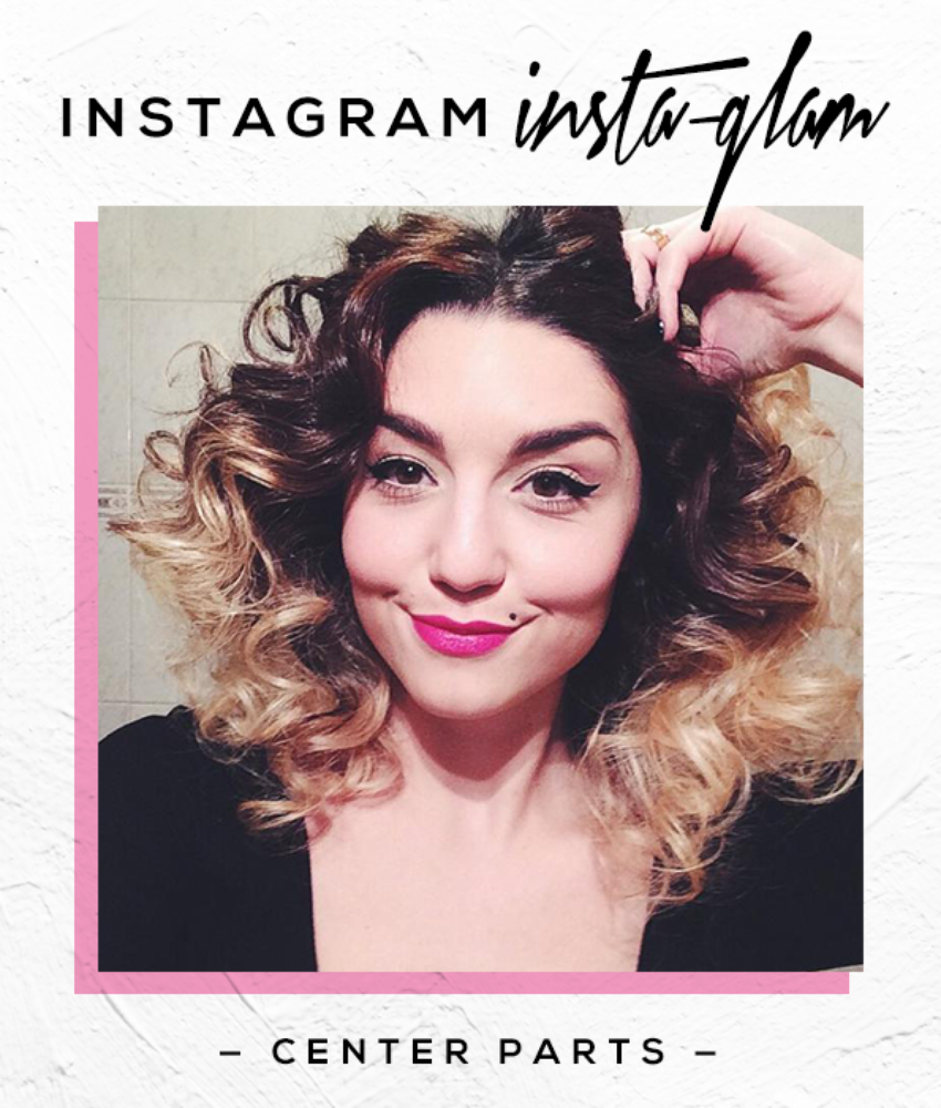 Instagram Insta-Glam: Hairstyles With PinkHighlights