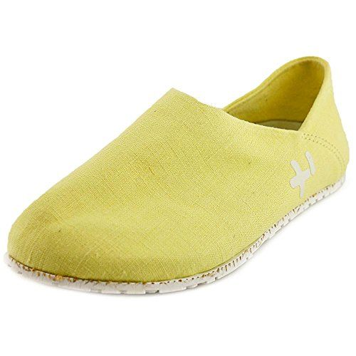 Zapatos Unisex 300GMS Linen Slip-On, Fluro Green, 36.5 EU (6.5 M US Mujeres)