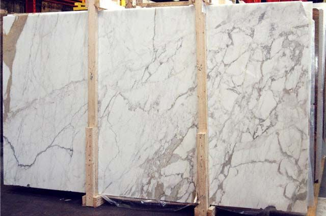 Calacatta Gold Marble Slab Idea For Counters