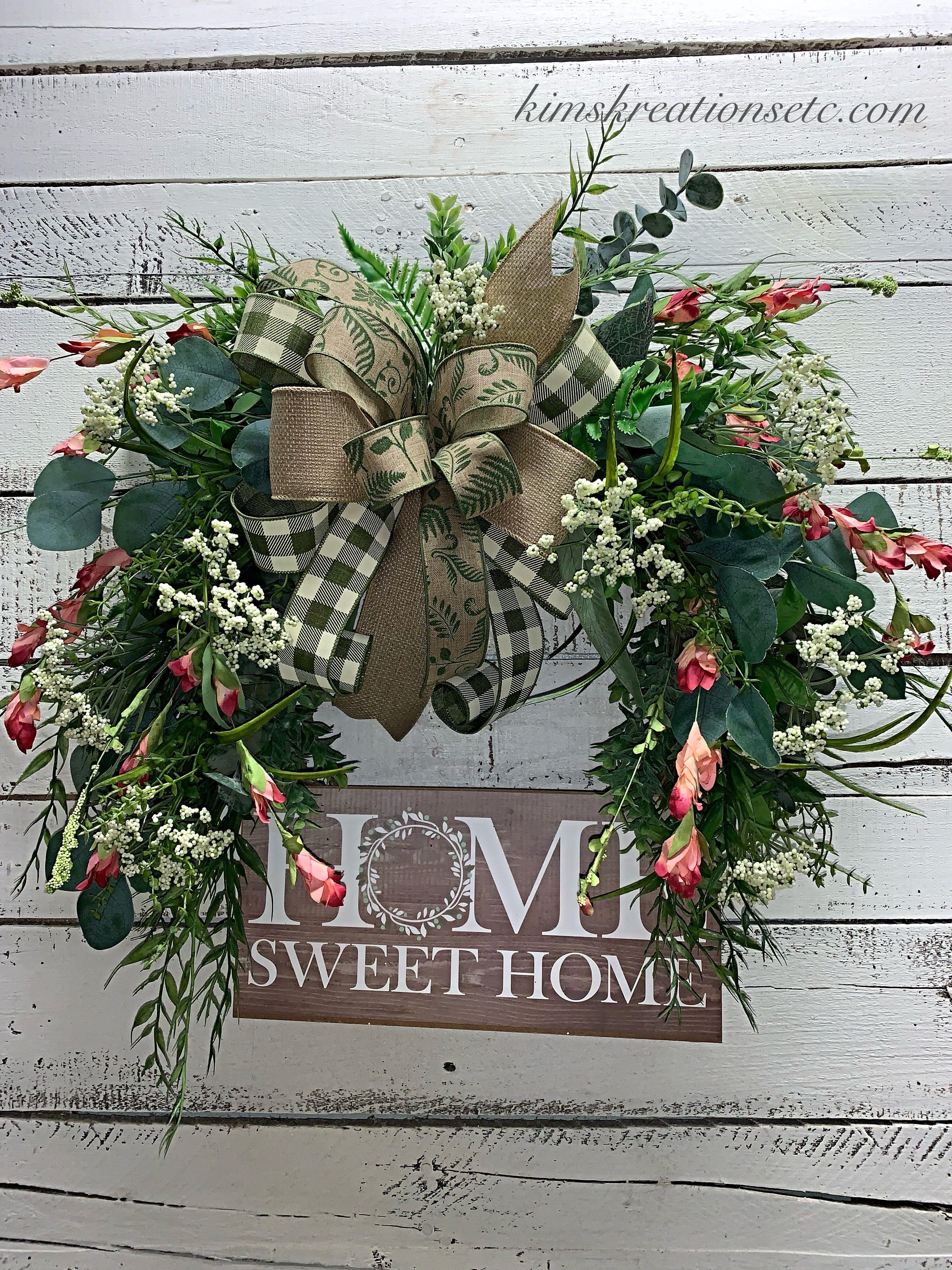 Pin on Summer wreath