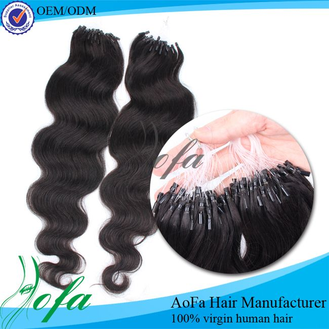 Different Styles Micro Braid Brazilian Remy Hair Extension Human
