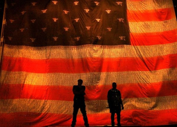 Watch The Flag Make It In America Jay Z Kanye West Kanye