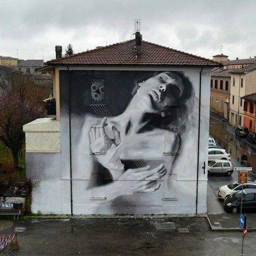 artmoi:@luisgomez in Forli, Italy / Photo found via @tschelovek_graffiti
