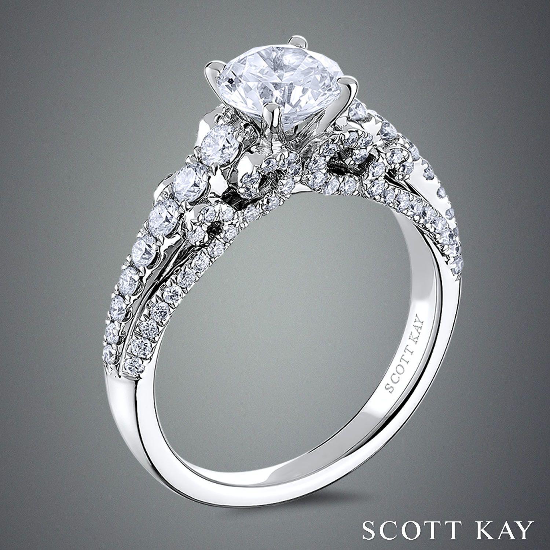 #ScottKay #engagementrings #weddingrings www.scottkay.com   www.goldcasters.com