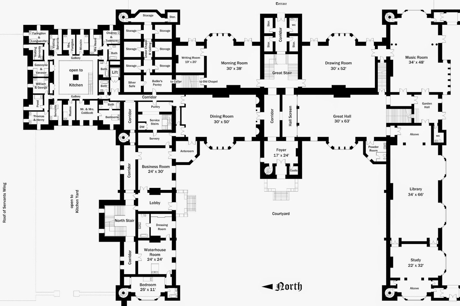 Blandford Homes Floor Plans: Pin By Alissa Austin On Foxbridge Castle