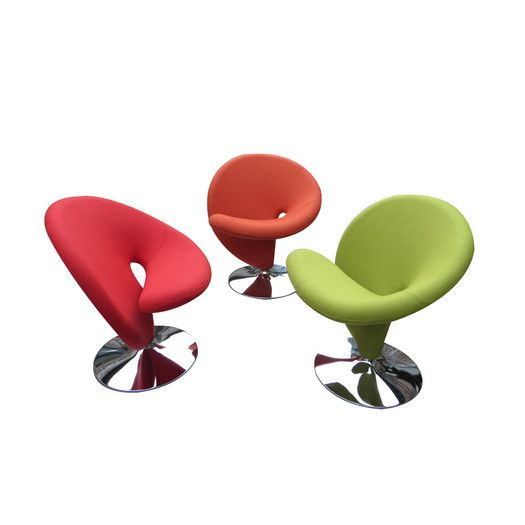 Pleasant Ziggy Swivel Leisure Side Chairs Modern Living Chairs Interior Design Ideas Clesiryabchikinfo