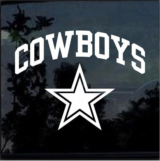 37d5e61e997 Really Cool Dallas Cowboys Window Decal Sticker Check it out here https    customstickershop