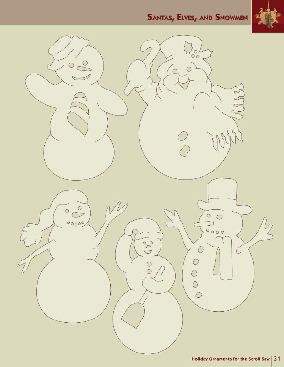 Holiday ornaments for the scroll saw scroll pinterest ornament