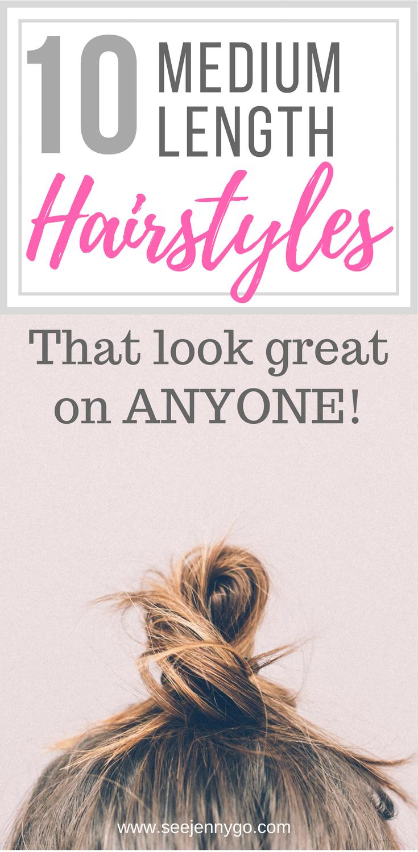 medium length hairstyles that look great on anyone medium
