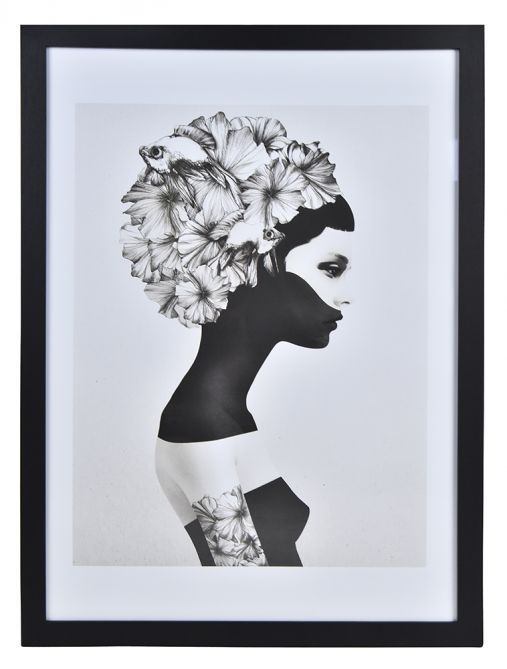 Marianna by ruben ireland framed print 50 x 70