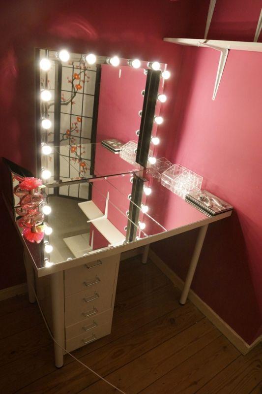 THIS VANITY \u003e\u003e\u003e Room Pinterest Vanities, Bulbs and Room