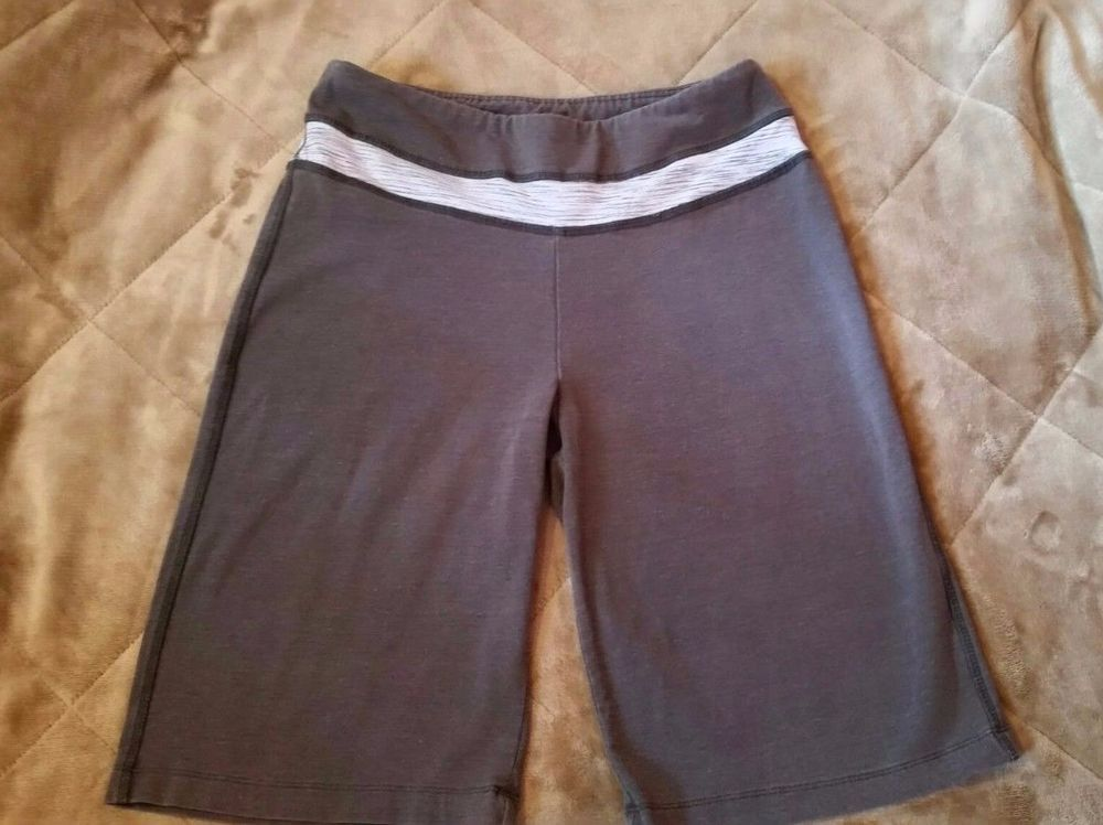 Marika Tek Womens Running Athletic Shorts Small grey