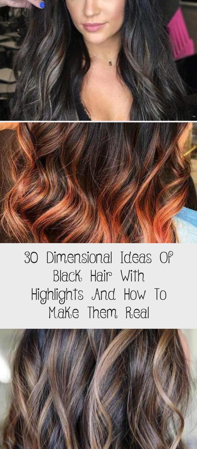 30 Dimensional Ideas Of Black Hair With Highlights And How