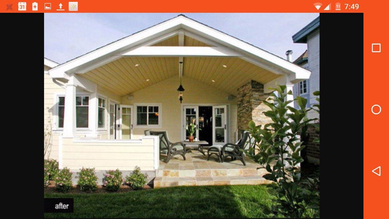 Pin by Juliana TrichiloCina on House Reno Mood Board   Covered patio design, Patio design, Porch design