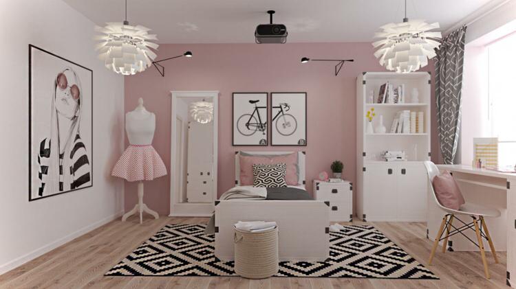Jugendzimmer weiß gestalten   Mit diesen Ideen wird der Raum perfekt in 2020   Teenagerzimmer ...